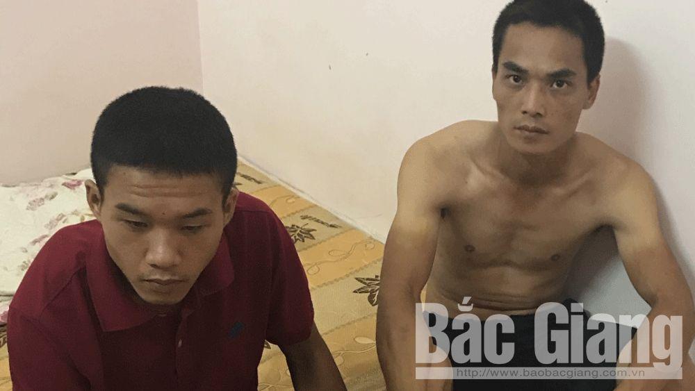 Bắc Giang: Hai anh em họ nghiện ma túy rủ nhau đi cướp